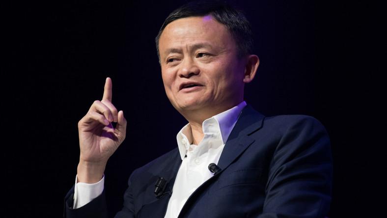 Jack Ma, szef koncerny Alibaba