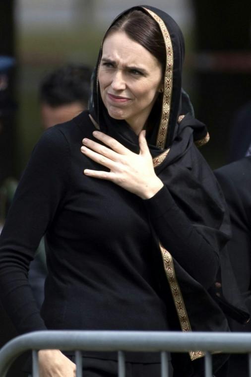 New Zealand's Prime Minister, Jacinda Ardern.