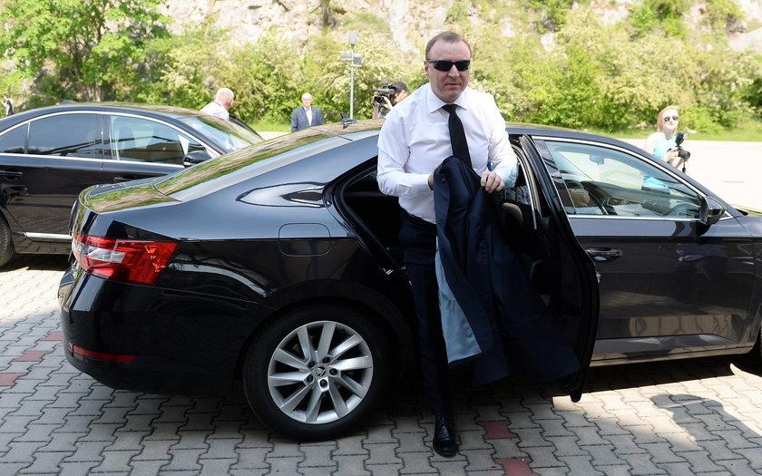 Prezes TVP, Jacek Kurski (51 l.)