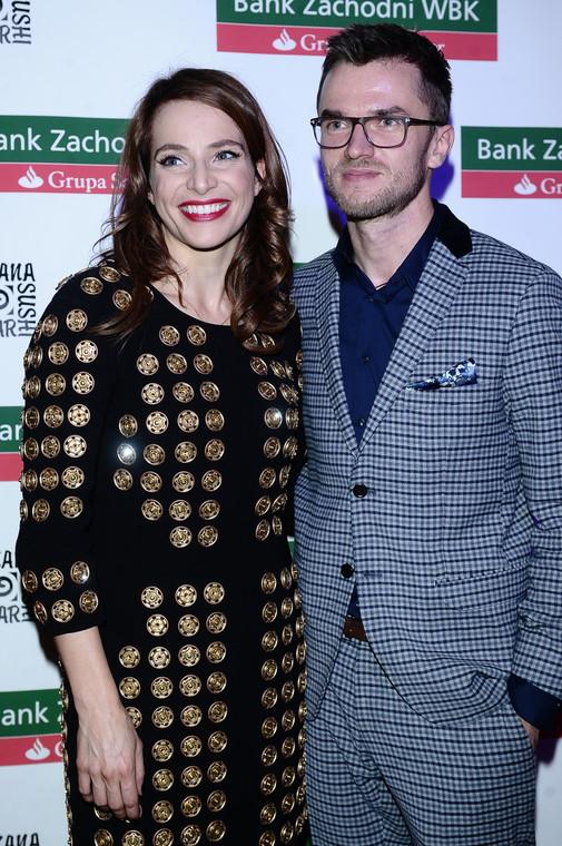 Anna Dereszowska and Daniel Duniak