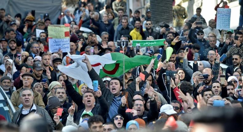 As the coronavirus has swept the world, the Algerian government banned demonstrations while Hirak protesters independently suspended rallies on public health grounds