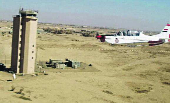 Detalj iz borbenih pohoda iračke vojske