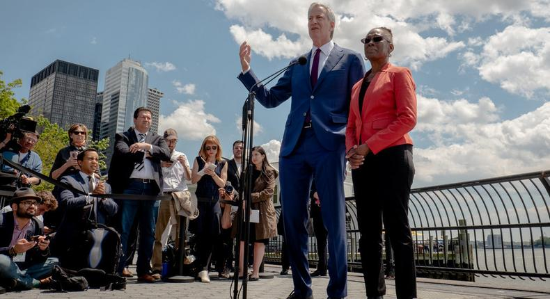 De Blasio got their $5,000 donations, their votes are another matter