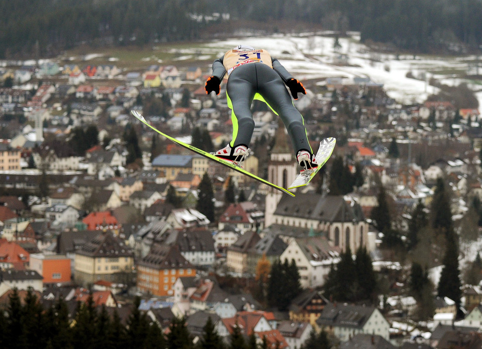 GERMANY SKI JUMPING WORLD CUP