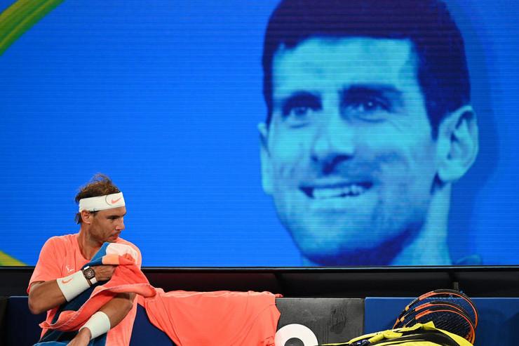 Rafael Nadal i Novak Đoković u Melburnu