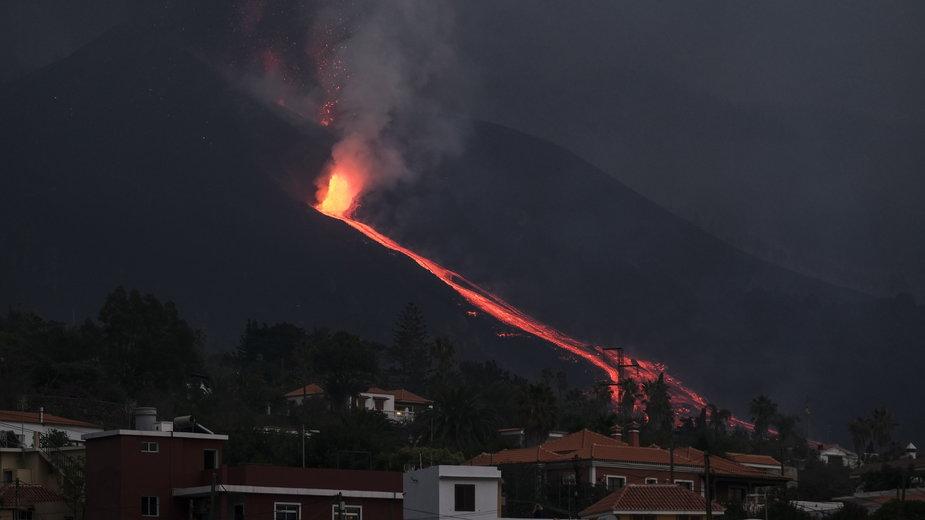 Wyspy Kanaryjskie: wulkan na La Palmie zniszczył już 700 budynków