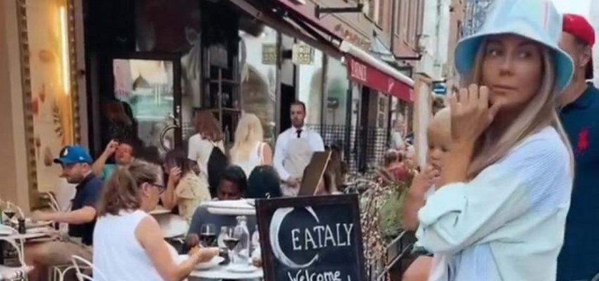 Rozenek zabrała rodzinę na obiad w Sztokholmie. Ceny w szwedzkich restauracjach zwalają z nóg