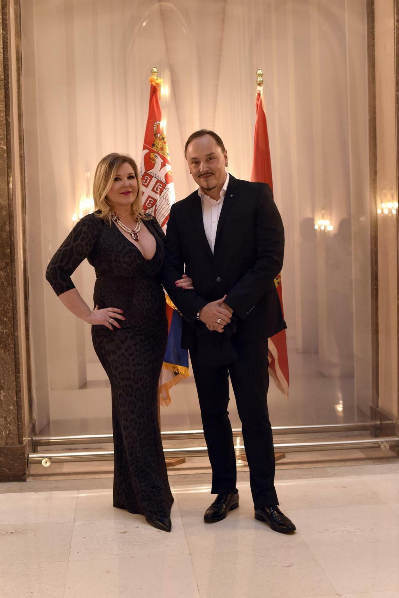 Nenad Knežević Knez sa partnerkom