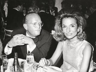 Lee Radziwill and Truman Capote circa 1966