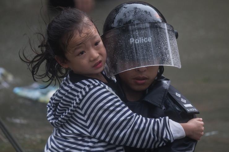 Kina tajfun EPA JEROME FAVRE