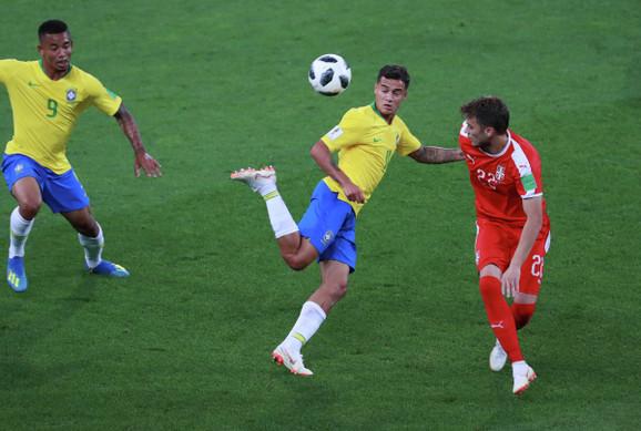 Brazilci prvi put na terenu posle meča sa Srbijom
