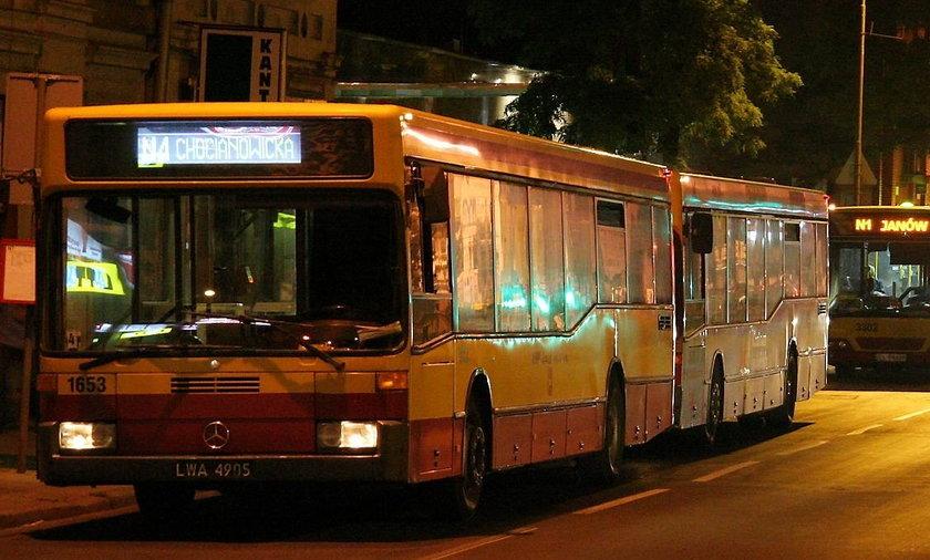 autobus nocny n4 łódź