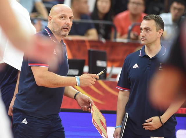 Aleksandar Đorđević i Darko Rajaković kao njegov pomoćnik u reprezentaciji Srbije