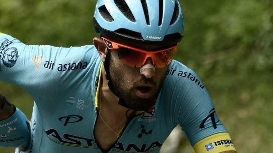 Dario Cataldo (na zdjęciu jeszcze w barwach Astana Pro Team)