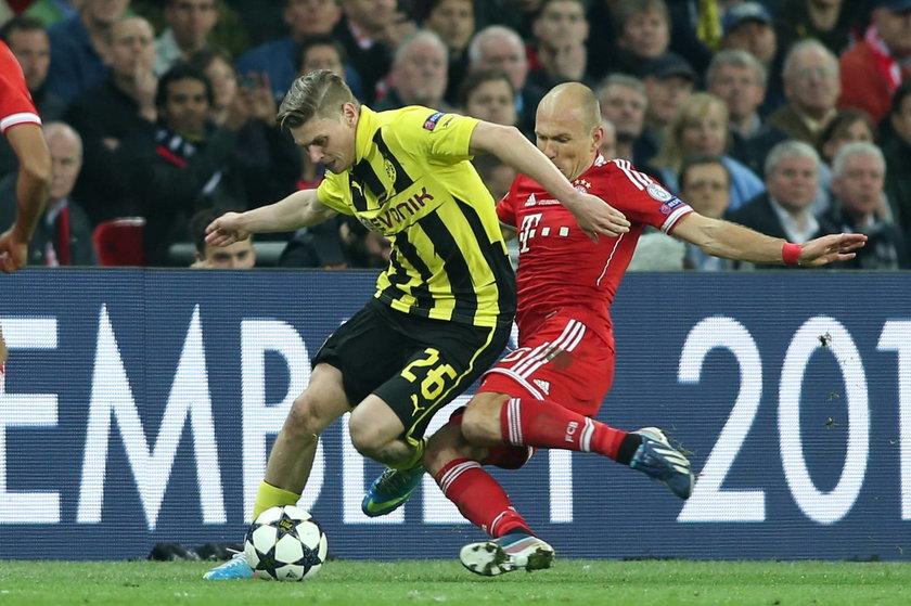 Finałowy mecz Ligi Mistrzów Bayern Monachium - Borussia Dortmund