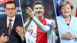 El. MŚ 2022. Robert Lewandowski zagra na Wembley! Morawiecki rozmawiał z Merkel