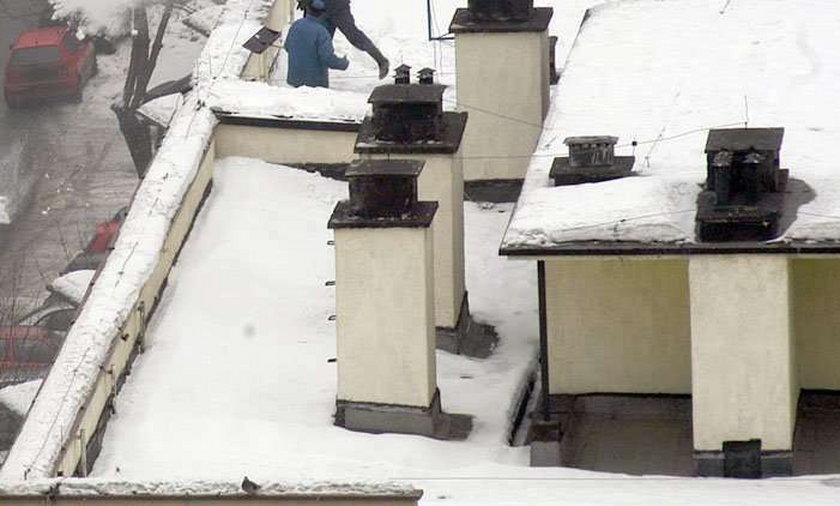 Uciekinier na dachu