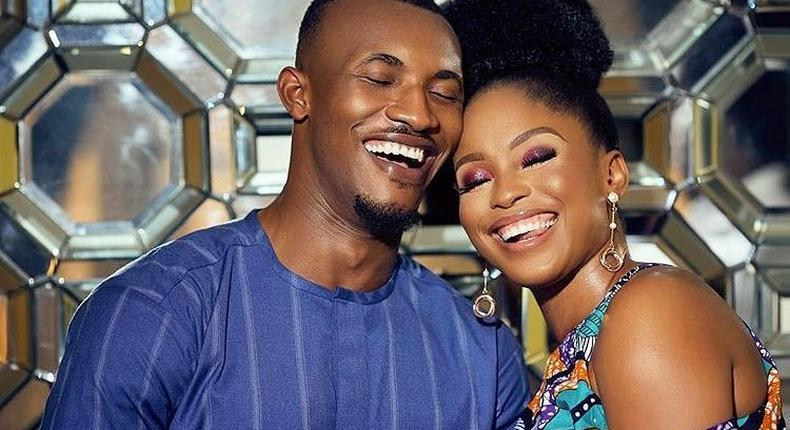 Gideon Okeke has welcomed a baby with his wife, Chidera and he can't keep calm about it [Instagram/GideonOkeke]