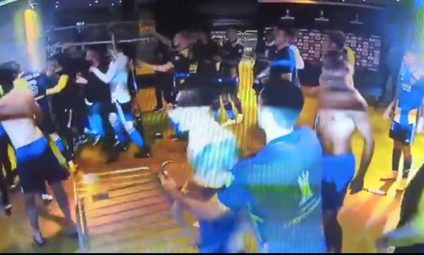 Skandaliczne zachowanie piłkarzy Boca Juniors