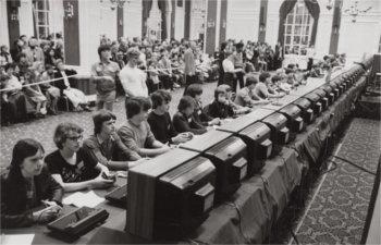 Zawody w grze Space Invaders w 1981 roku
