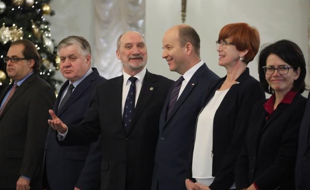 Członkowie rządu Beaty Szydło