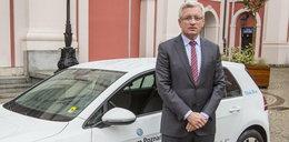 Prezydent chce miejskich wypożyczalni aut