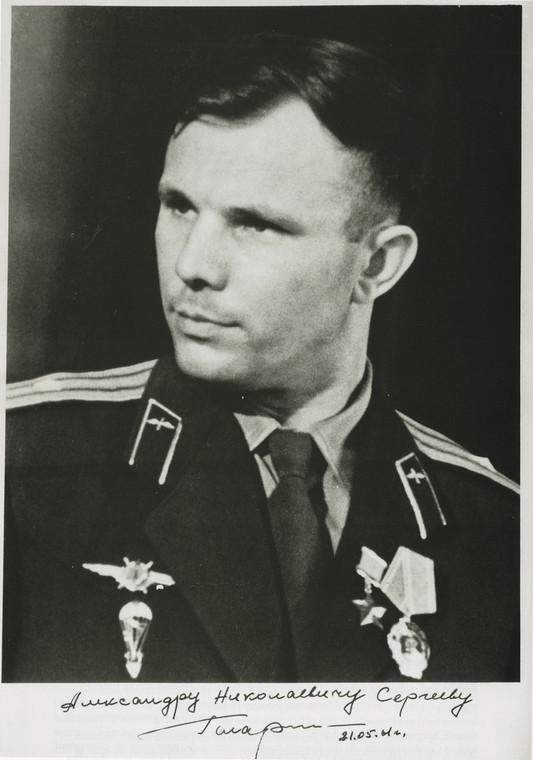 Juri Gagarin fot. bloomberg