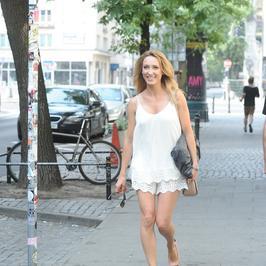 Anna Kalczyńska i jej zgrabne nogi