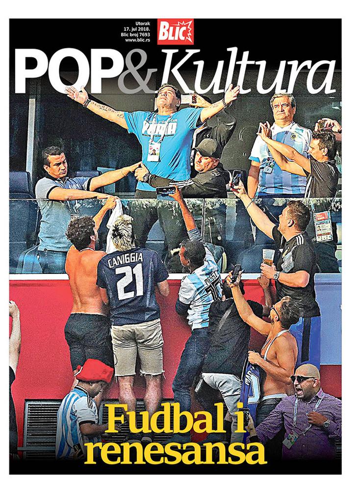 POP Kultura Cover Maradona