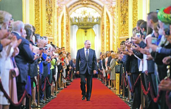 Vladimir Putin stiže na inauguraciju
