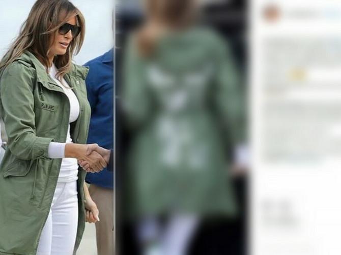 Melanija uvredila pola sveta: Prva dama se pojavila u jakni od 4.000 dinara i navukla bes zbog OVOG detalja na njoj