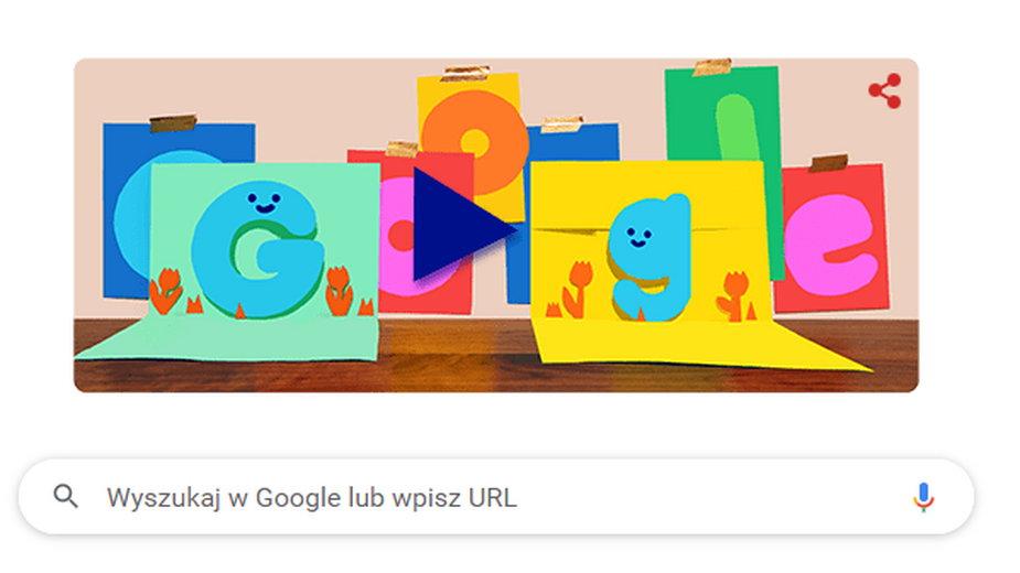 Dzień Ojca 2021. Google przygotował specjalną animację
