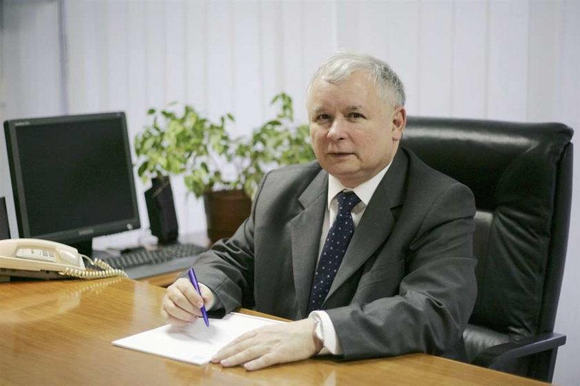 Kaczyński ma już konto