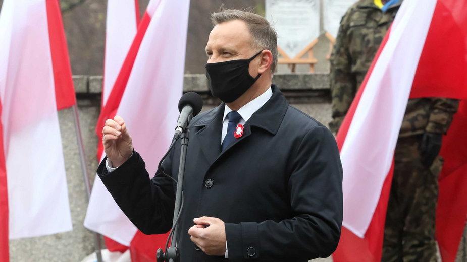 Andrzej Duda podczas obchodów rocznicy wybuchu III Powstania Śląskiego