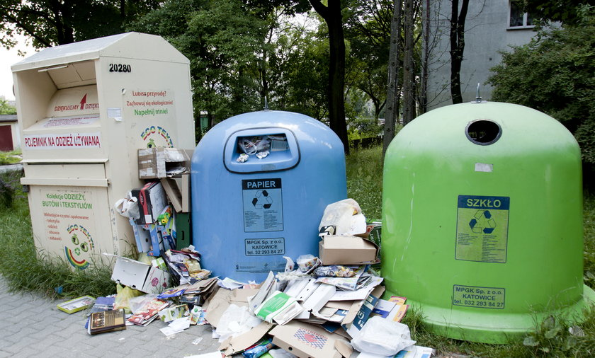 Śmieci w Katowicach