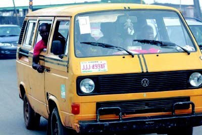 The yellow danfo bus is the vehicle of choice for officers of the anti-cultism unit in Lagos who regularly carry out raids that improperly profile young Nigerians based on mode of dressing, hairstyle, tattoos and any other made up crimes they can exploit to extort money from their helpless victims [Connect Nigeria]