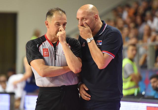 Razgovor Aleksandra Đorđevića sa sudijom