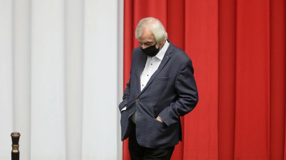 Marszałek Sejmu Ryszard Terliecki