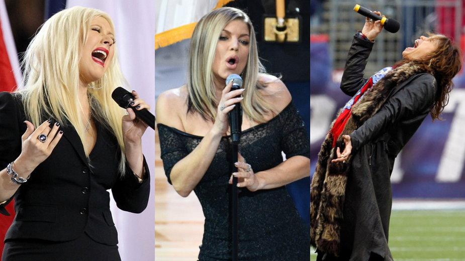 Christina Aguilera, Fergie, Steven Tyler