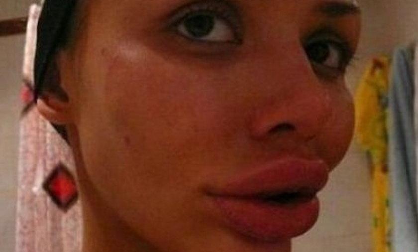 GALERIA Usta grozy
