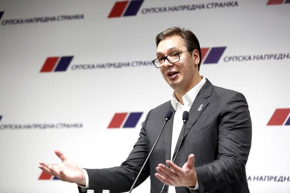 Vučić, SNS Predsedništvo partije