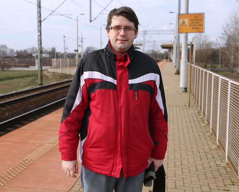 Mateusz Tuszko (31 l.), pasażer