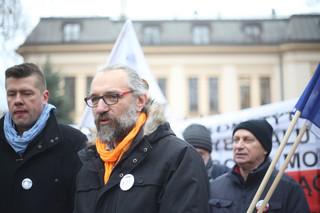 Mateusz Kijowski, szef KOD: Nie chcemy obalać rządu PiS, nam chodzi o demokrację