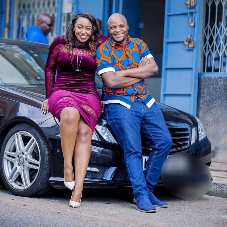 Betty Kyallo with Jalango