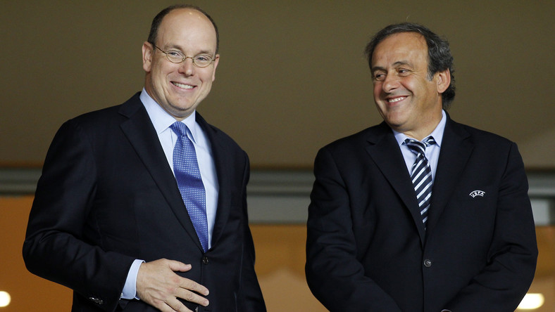Michel Platini (z prawej)
