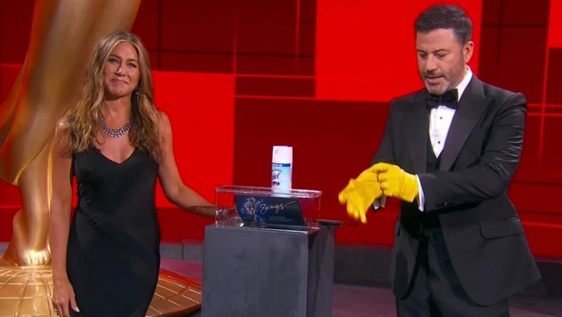 Emmy 2020: Jennifer Aniston i Jimmy Kimmel