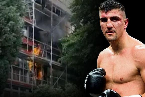 ROŠTILJ IZAZVAO OPŠTI HAOS! Srpskom bokseru IZGOREO STAN u Nemačkoj! Vatrogasci evakuisali stanare, šteta ogromna, ali svi su, srećom, dobro!