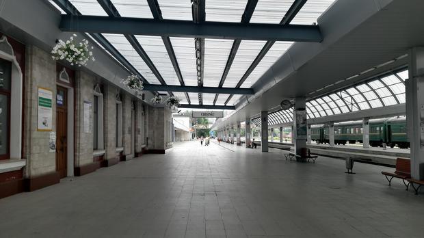 Dworzec w Kiszyniowie