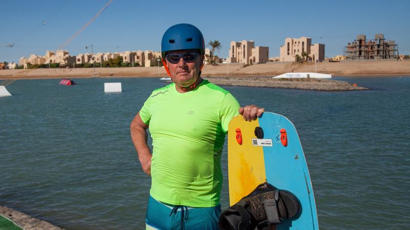 Marek Lach. Polak mieszkający od 12 lat w Egipcie