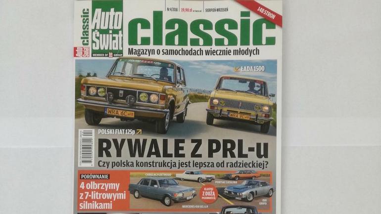 Auto Świat Classic 4/2018 jużw kioskach